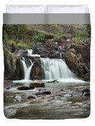 Lower Red Rocks Falls Duvet Cover by Jemmy Archer