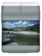 Lower Sisquoc River - San Rafael Wilderness Duvet Cover