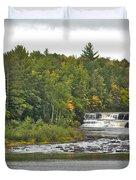 Lower Tahquamenon Falls 4 Duvet Cover