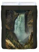 Lower Waterfalls Duvet Cover