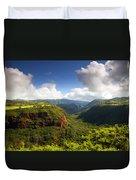 Lower Wiamea View Duvet Cover