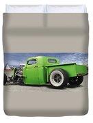Lowrider At Painted Desert Duvet Cover