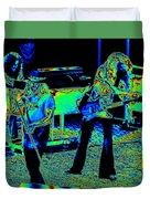 Ls #40 Enhanced Cosmically Duvet Cover