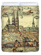 Lubeck, Germany Duvet Cover