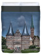 Lubek Germany Duvet Cover