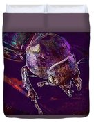 Lucane Kite Female Darling Beetle  Duvet Cover