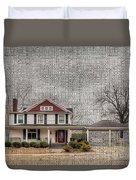 Lucas House Duvet Cover