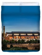Lucas Oil Stadium Duvet Cover