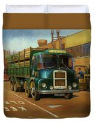 Lucas Scammell Routeman I Duvet Cover by Mike  Jeffries