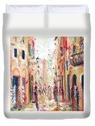 Lucca Street Duvet Cover