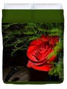 Lucius Red Rose Duvet Cover