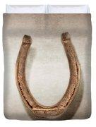 Lucky Horseshoe Duvet Cover