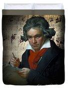 Ludwig Van Beethoven 1820 Duvet Cover