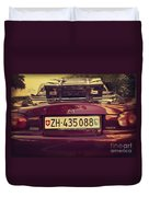 Luggage Duvet Cover