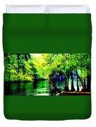 Lumber River II Duvet Cover