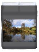 Lumsdale Pool Duvet Cover