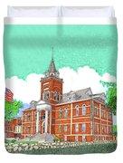 Luna County Court House  Deming  N M   Duvet Cover