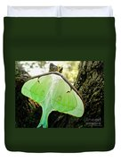 Luna Moth No. 3 Duvet Cover