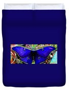 Luna Moth Uv Pano Duvet Cover
