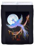 Luna Phoenix Duvet Cover