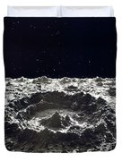 Lunar Crater, 1874.  Duvet Cover by Granger