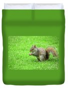 Lunchtime In The Park Duvet Cover