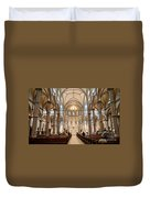 Lunchtime Mass At Saint Paul Cathedral Pittsburgh Pa Duvet Cover