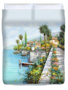Lungolago Duvet Cover by Guido Borelli