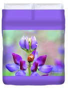 Lupine And Friends Duvet Cover