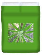 Lupine Leaf And Raindrop Duvet Cover