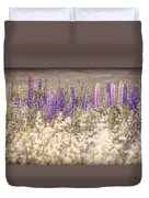 Lupine Remembered Duvet Cover