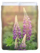 Lupine Sunrise Duvet Cover