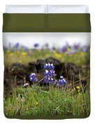 Lupines Duvet Cover