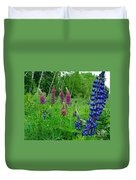 Lupins 2016 4 Duvet Cover