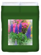 Lupins Duvet Cover