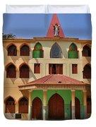 Lupita Church Duvet Cover