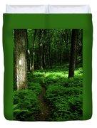 Lush Green At 2 Duvet Cover
