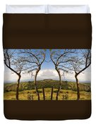 Lush Land Leafless Trees IIi Duvet Cover