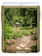 Lush Landscaped Garden Duvet Cover