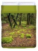 Lush Vegetation Duvet Cover