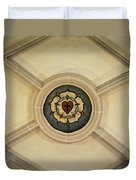 Luther Rose At St Peter And Paul Duvet Cover