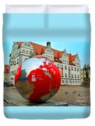 Lutherstadt World Duvet Cover