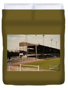 Luton Town - Kenilworth Road - Main Stand East Side 1 - 1970s Duvet Cover