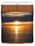 Lutsen Shore Sunrise Two Duvet Cover