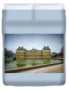 Luxembourg Palace Duvet Cover