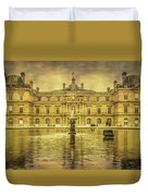 Luxembourg Palace Paris Duvet Cover