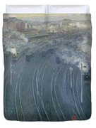 Luxembourg Station Duvet Cover
