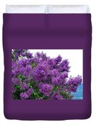 Luxurious Lilacs Duvet Cover