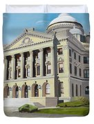 Luzerne County Courthouse Duvet Cover