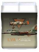 Lva Viper Demo Duvet Cover